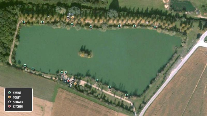 Etang la Suassaie het meer 01